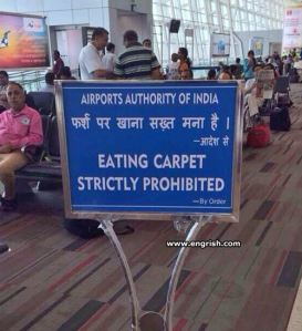 Keep this in mind if you're stuck at an airport in India