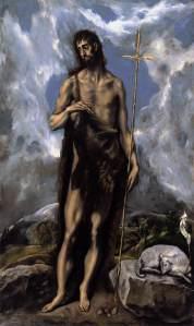 St. John the Baptist, El Greco (c. 1600)