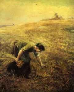 Gleaning, Arthur Hughes (1832-1915)