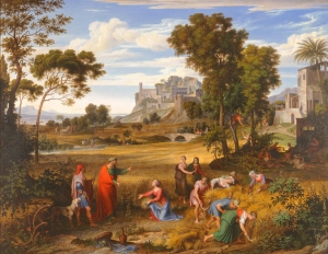 Landscape With Ruth and Boaz, by Joseph Anton Koch (1823-1825).