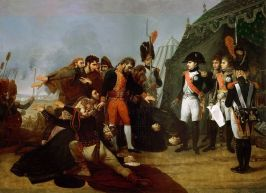 Napoleon accepts the surrender of Madrid Antoine-Jean Gros (1810)