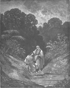 David and Jonathan, Gustav Doré (1843)