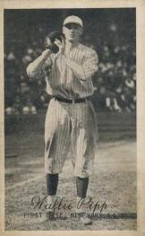 Wally Pipp's 1923-24 Baseball Card