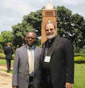 I was delighted to run into Glomicko Munthali, who I believe was the first chair of the Blantyre Synod Partnership Committee in 1991.