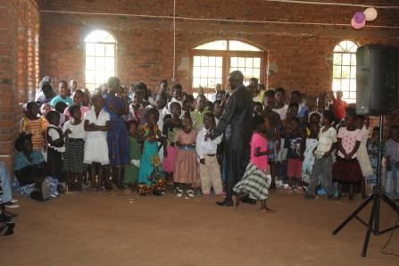 Children's sermon.