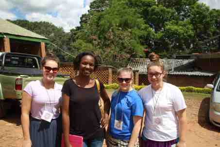 We reunited with Beatrice Mfune, who got to know the team at the New Wilmington Mission Conference.