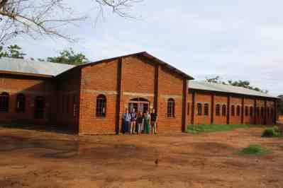"The ""new"" church building is nearing completion. It is a marked upgrade from the older structure in terms of size, ventilation, and shelter."
