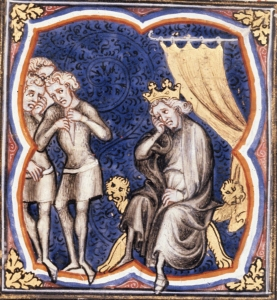 David Mourns for Saul, Guyart des Moulins (1357)