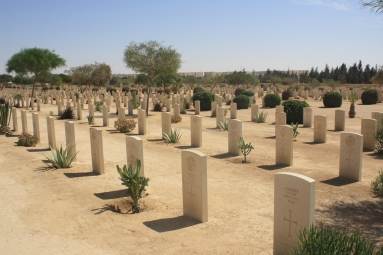 Commonwealth War Graves in El Alamein, Egypt